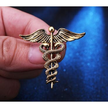 Gold Plated Bird Wing Brooch Pin Pendant For Men Suit