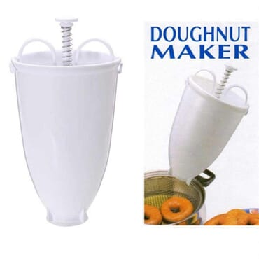 Kitchen Plastic Batter Dispenser DIY Doughnut Maker