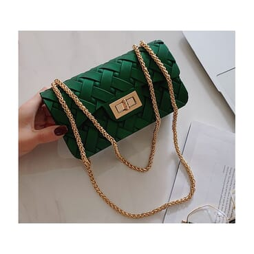 Green Quality Female Handbag/Women Handbag/Jelly Handbag
