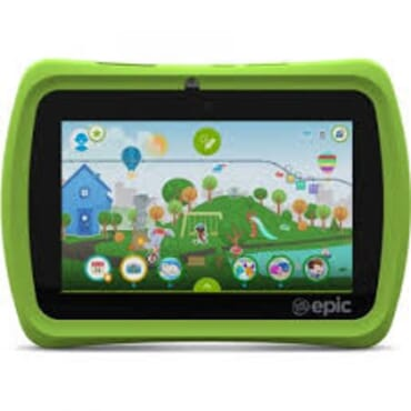 G-Tab Q66 7 Inch Wifi Tablet for Kids-8Gb Quad Core-Dual Camera-IPS LCD with Study Games