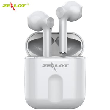 NEW Zealot T2 Mini TWS Earbuds Bluetooth V5.0 In-Ear Wireless Sport Earphones Tap Control Headset Handsfree + Charging Case