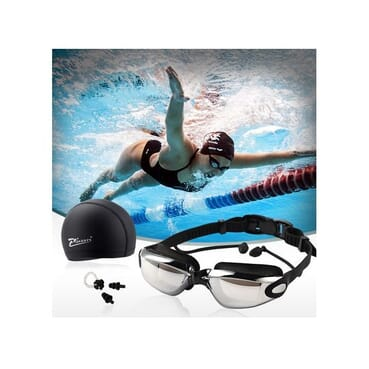 HD Waterproof Anti-Fog Glasses Swimming Kit