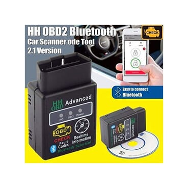 HH OBD2 Car Auto Bluetooth Diagnostic Tool Interface Scanner