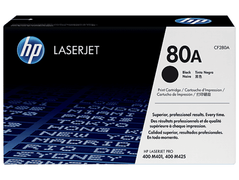 HP 80A BLACK TONER