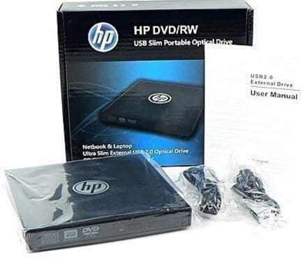 Hp DVD/RW USB Slim Portable Optical