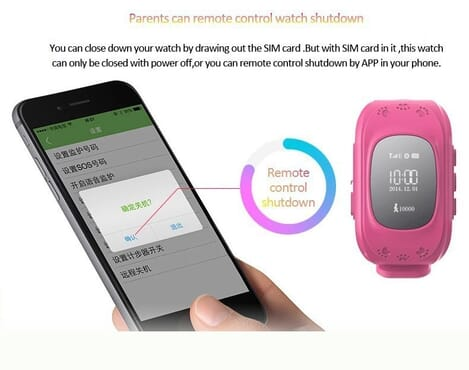 Kids Smart Wrist Watch GPS Tracker