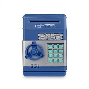 Electronic Piggy Bank ATM Password Money Box  Automatic Coin & Note Deposit