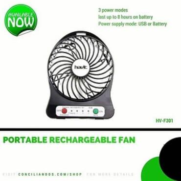 Havit Portable Rechargeable USB Fan