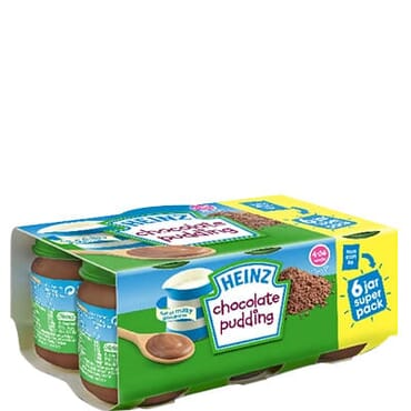 Heinz Chocolate Pudding Super Pack - 6 Jar
