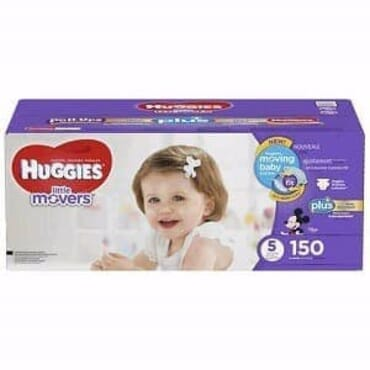 Huggies Little Movers Baby Diaper - Size 5 - 150ct