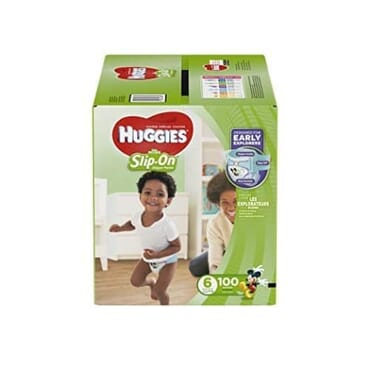 Huggies Little Movers Slip On Diaper Pants - Size 6 - 100ct