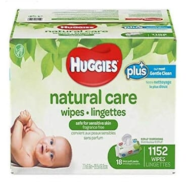 Huggies Natural Care Plus Baby Wipes - 1152 Counts