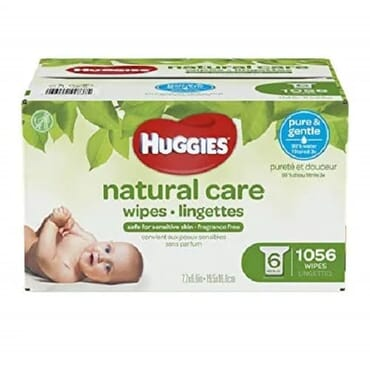 Huggies Natural Care Plus Wipes - 1056 Count