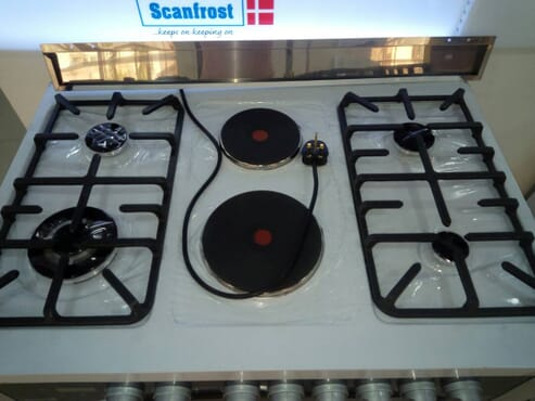 SCANFROST GAS COOKER - SFC9423SS