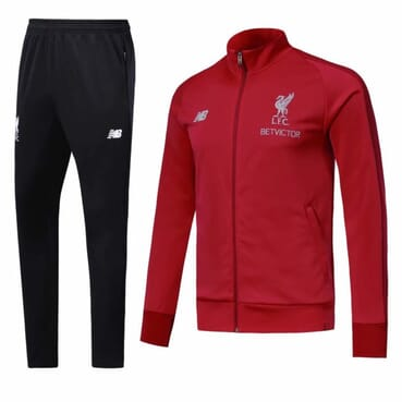 LIVERPOOL TRACKSUIT RED-BLACK 2019|2020