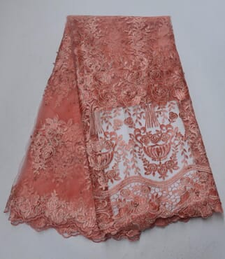 Quality Lace Combo (4 yards) + Gele DNSLC-003