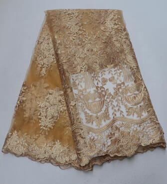 Quality Lace Combo (4 yards) + Gele DNSLC-001