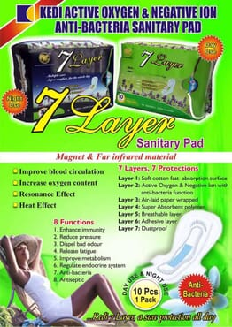 7-layer Sanitary Pads