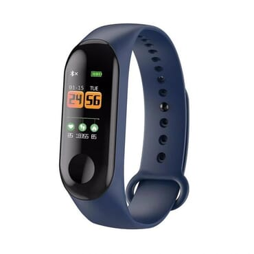 M3 Blood Pressure Oxygen Connected Watch Fitness Bracelet Activity Tracker Smart Watches Unisex IP67 Waterproof Sport Wristband