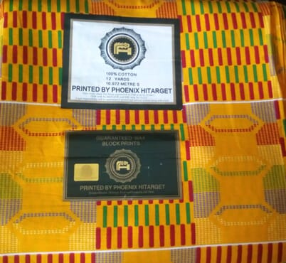 Ghana Hitarget Ankara Guaranteed Wax Block Prints