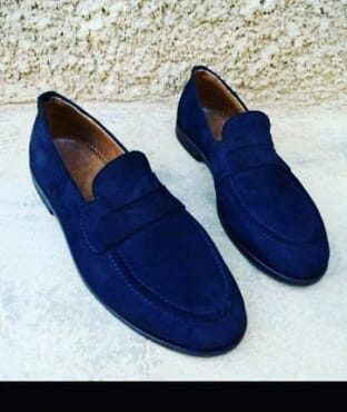 E-Kings Handmade Suede Casual Loafer