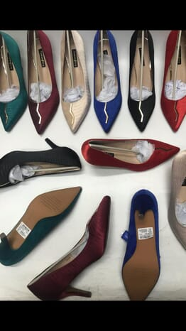 Low Heel all colors Patent Office Court shoes.