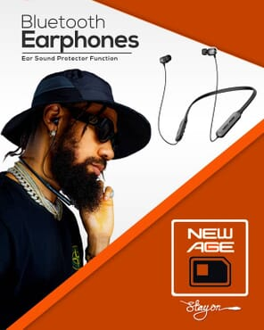 New Age xphyno Earphones