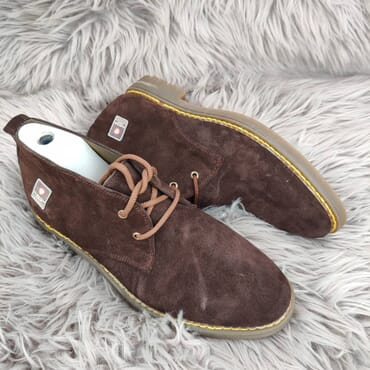 Affordable Suede Chukka Dress Boot.