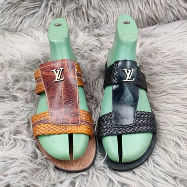 Hand Made Woven Leather Sandal