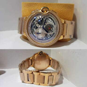 Cartier Round Face Chronograph Men's Watch