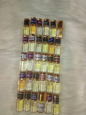 PERFUME OIL PACK OF 30 (3MLS)