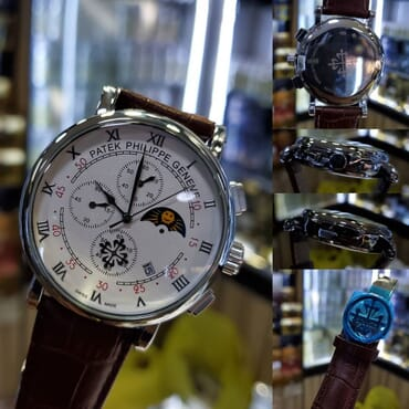 Patek Philippe Men's Watch - White Dial