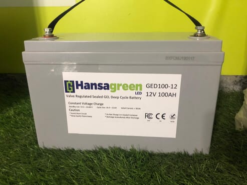 Gel Deep Cycle Battery