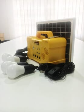 Solar System Home Starter Yellow box