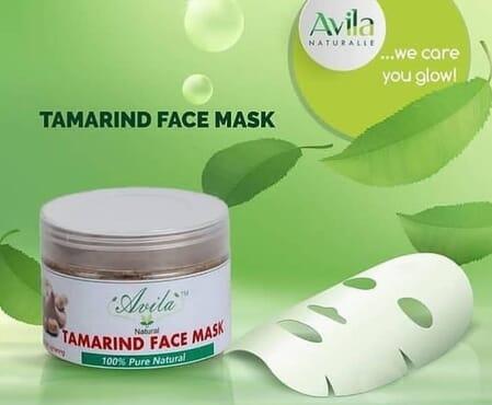 Avila Tamarind face mask