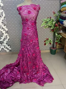 Beautiful Owanmbe Lace