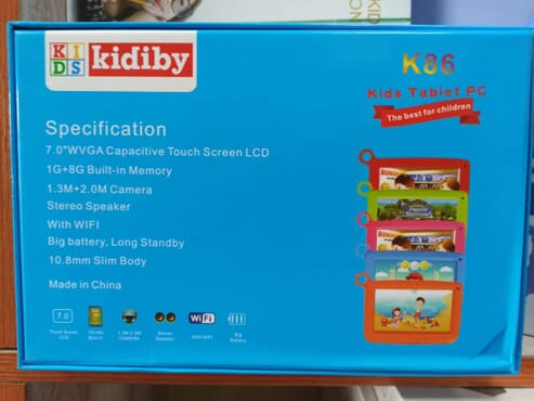 Kids Tablet PC k86