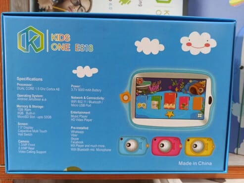 Tablet For Child - Baby Tab 7 (wholesale)