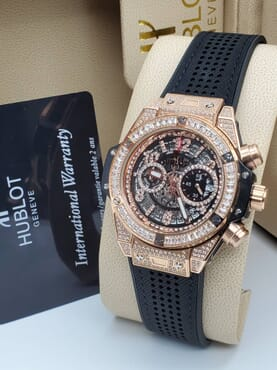 Hublot Big Bang Unico King Gold Pave