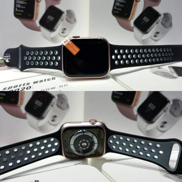 2020 Smart Sport Pored Strap Watch (2 straps)