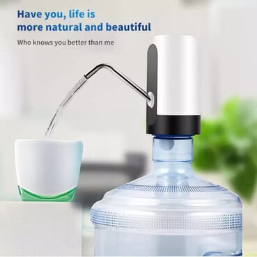 Rechargeable Intelligent Household Automatic Drinking Water Pump Dispenser