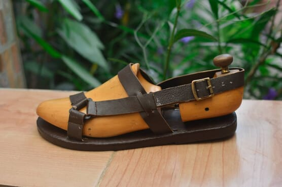 Lagbaja Moses Sandals