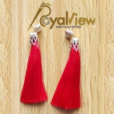 RoyalView Eve Tassel Earrings