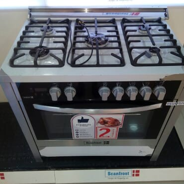 SCANFROST GAS COOKER 5BURNER SFC9502S