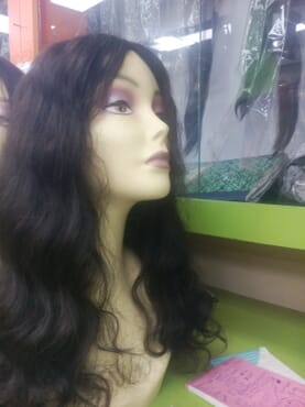 Universal Body Wave Wig 20inches Color 1b (center Parting)
