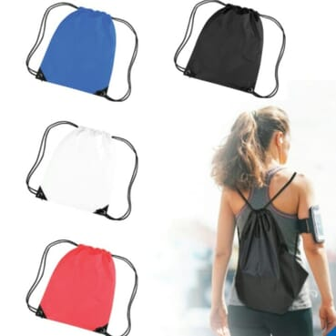 Promotional Outdoor Shoulder Drawstring Bags
