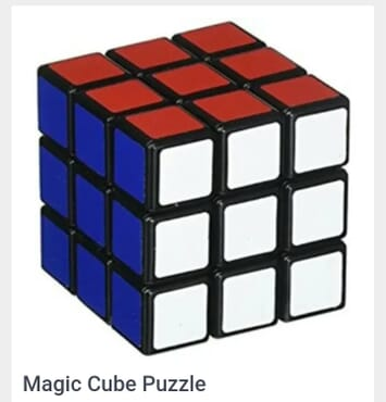 Rubik's Cube 3x3 Magic Puzzle