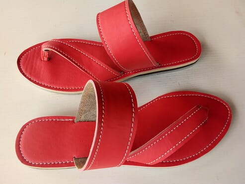 Handmade slippers.. Iremide stores