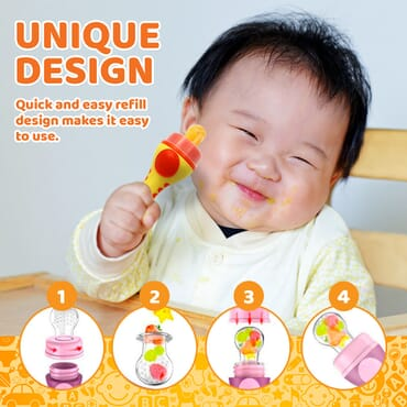 Baby Food Feeder | Pacifier Fruit Feeder
