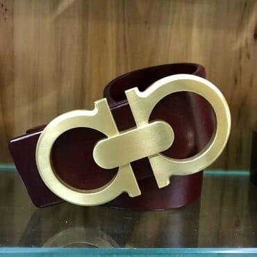 Quality Gucci leather belts